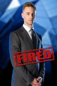 Sam Curry - fired in week 7 (courtesy of BBC)
