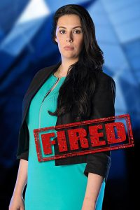Elle Stevenson - the first to be fired in week 6 (courtesy of BBC)